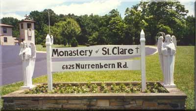 Poor Clare Monastery in Evansville
